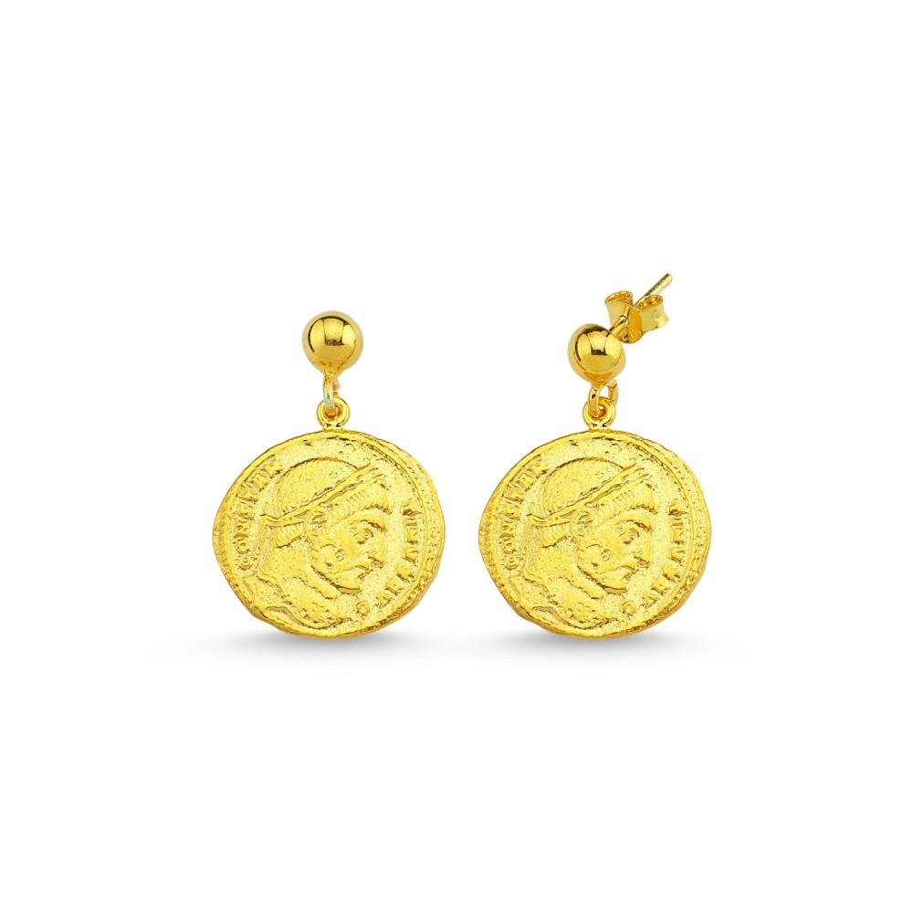 Coin 1 Earrings