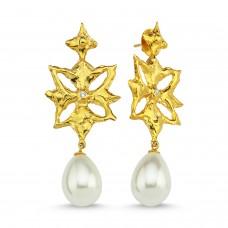 Grace Earrings - Gold
