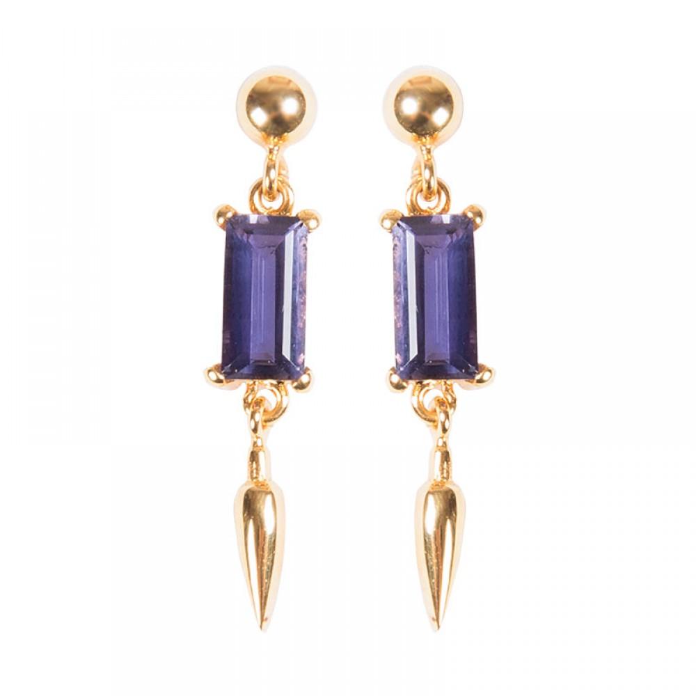 Cuties Iolite Earrings