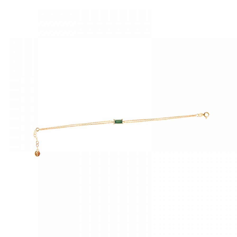 Green Tourmaline Bracelet